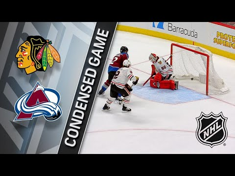 03/30/18 Condensed Game: Blackhawks @ Avalanche