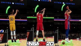 Can Lonzo Ball and Ben Simmons Beat Stephen Curry in a 3 Point Contest? NBA 2K20