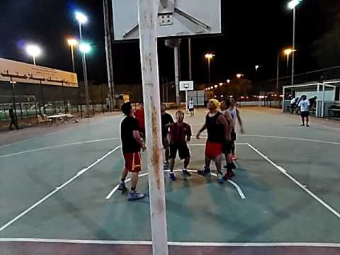 Basketball in Kuwait-1st game-11/6/2016