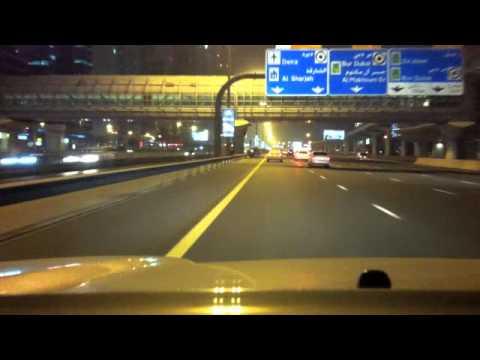 Dubai Night Drive