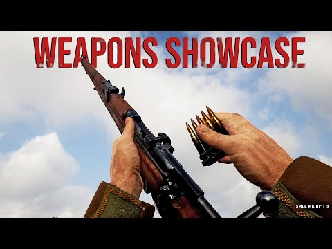 Beyond The Wire - All Weapons Showcase |