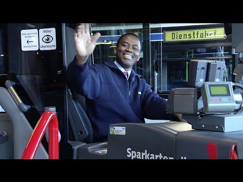 WSW-Busfahrer zum Thema Freundlichkeit