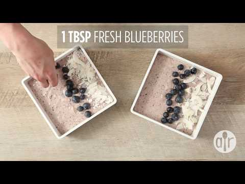 How to Make Overnight Oats Blueberry Smoothie Bowl | Breakfast Recipes | Allrecipes.com