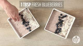 How to Make Overnight Oats Blueberry Smoothie Bowl | Breakfast Recipes | Allrecipes.com