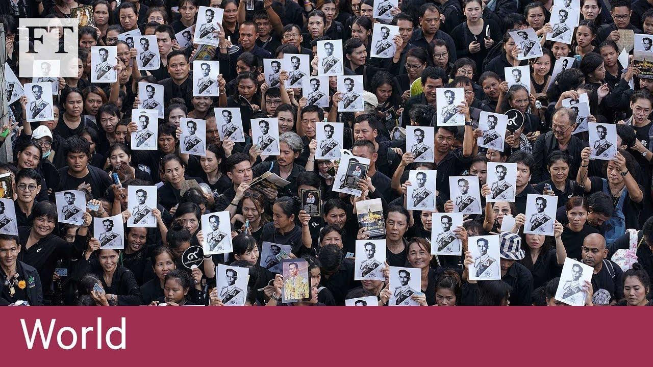 Thais bid farewell to King Bhumibol