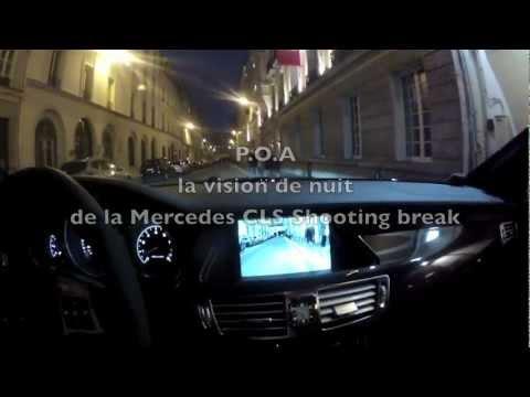 Mercedes Cls Shooting Break Amg Vision De Nuit Essai 4