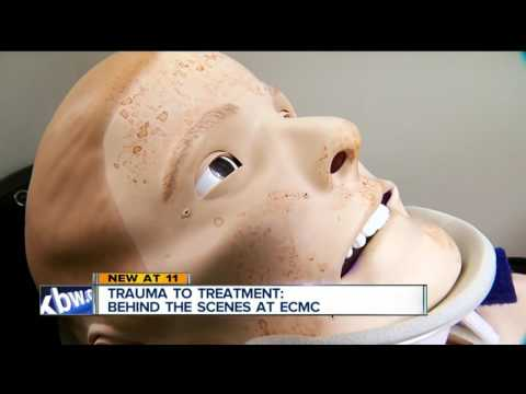 Trauma to treatment: behind the scenes at ECMC
