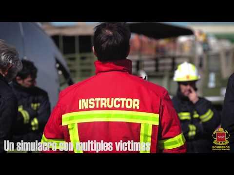 BOMBEROS COMUNIDAD DE MADRID CURSO DE CONTROL Y MANDO EN ACCIDENTES DE TRAFICO