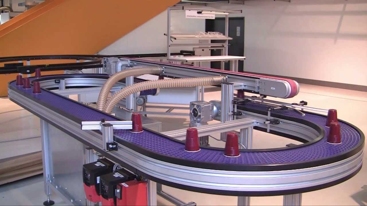 New Robotunits Modular Belt Conveyor And Vacuum Conveyor