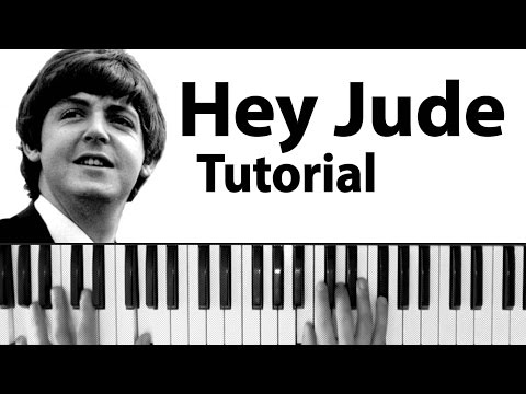 Como tocar Hey Jude The Beatles  Tutorial y partitura completa