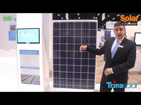 Solar Power International 2013   Trina Solar   Dual Glass   from YouTube