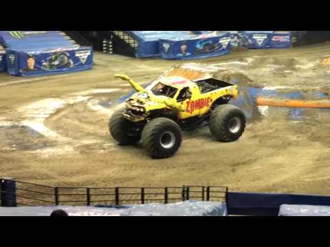 Monster Jam 1-31-2016 Sacramento CA