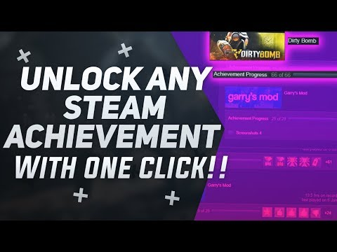 How To Unlock Steam Achievements With One Click!   Gaming With Zahin