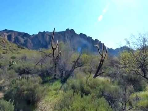 Marsh Valley Loop - Cavalry Trail, Superstitions 2012 - Part 3 of 5