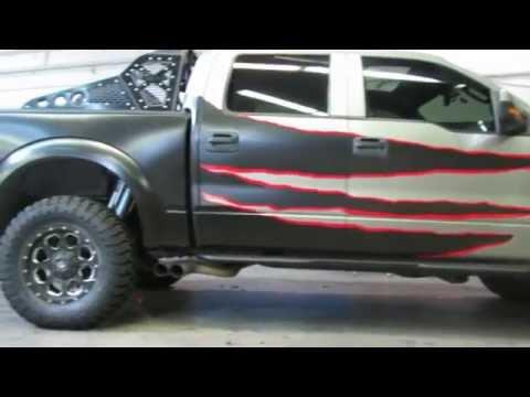 Addictive Desert Designs Graphics   Ford Raptor Matte Truck Wrap
