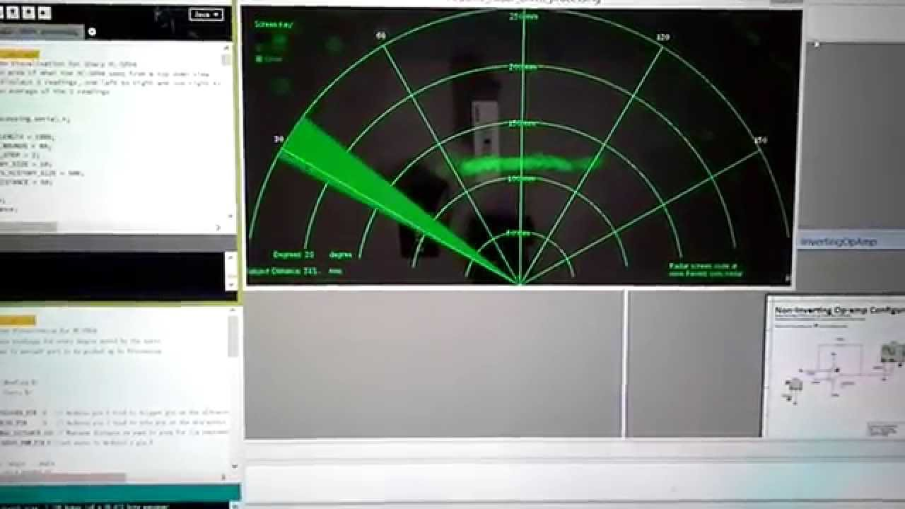 Arduino Radar Youtube