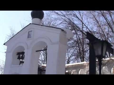 Егор на могиле  Пересвета и Ослябя