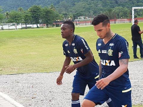 ULTIMA HORA ! Marlos Moreno Primeiro Reforço do Flamengo, Já Treina no Clube ! 15/01/2018