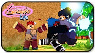 Roblox Shinobi Life How To Defeat Sasuke And Gaara Open World Boss Battles