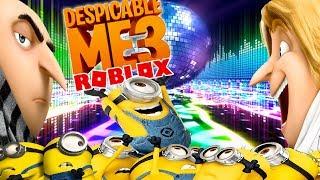 ROBLOX Avventura - DESPICABLE ME 3 MINIONS DANCE OFF!!!