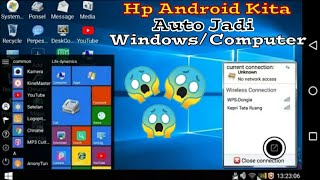 Cara Merubah Tampilan Android Seperti PC/LAPTOP (WINDOWS)