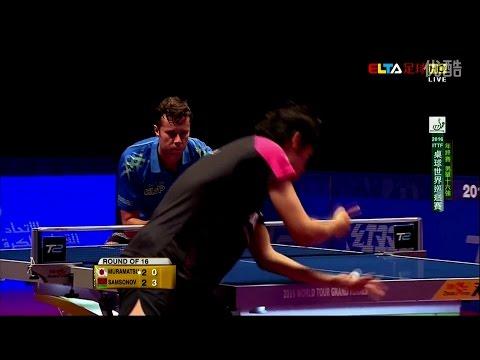 2016 Grand Finals (MS-R16) MURAMATSU Yuto Vs SAMSONOV Vladimir [Full Match/Chinese HD1080p]