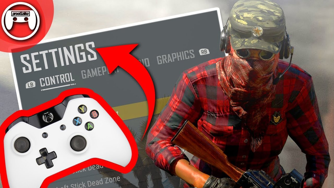 PUBG Xbox Best Settings Sensitivity Settings November Update YouTube