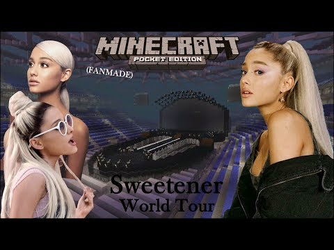 Ariana Grande - Sweetener World Tour (Minecraft)