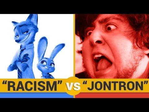 RACISM VS JONTRON - Google Trends Show