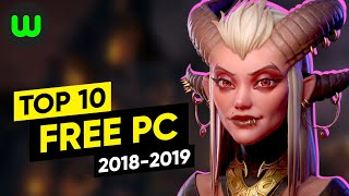 Top 10 FREE PC Games of 2018-2019