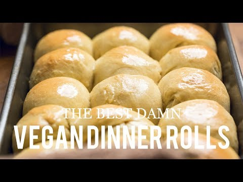 How to Make Vegan Dinner Rolls