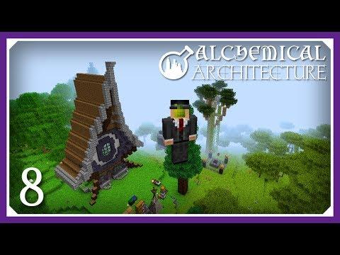 Alchemical Architecture | Finishing The Monk Mod! | E08 (Magic