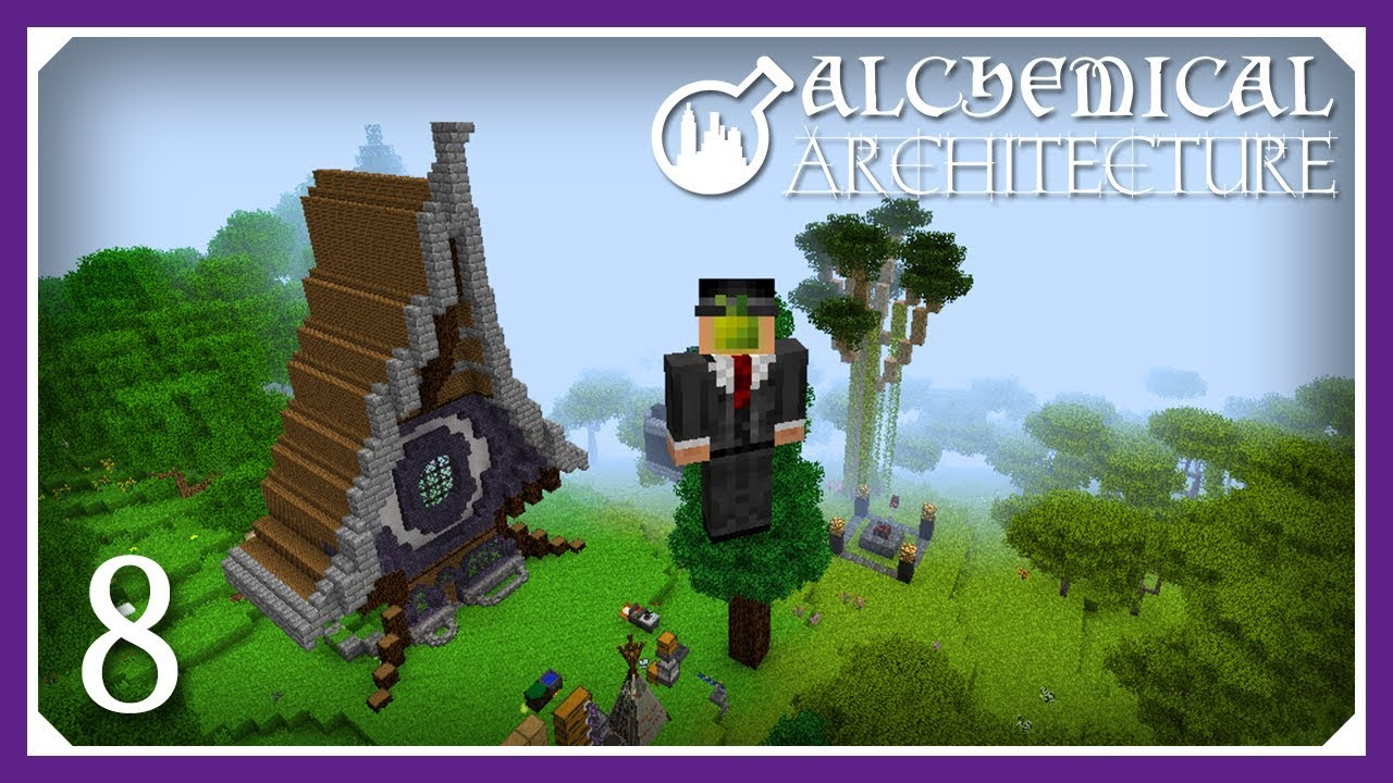 Alchemical Architecture | Finishing The Monk Mod! | E08 (Magic Modpack Lets  Play)
