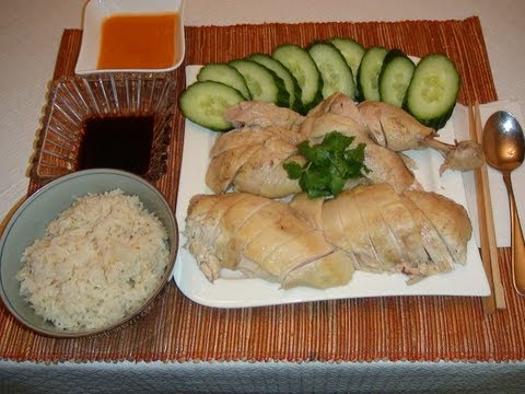 PINOY RECIPE - HAINANESE CHICKEN RICE QUICK AND EASY RECIPE [SINGAPORE STYLE]