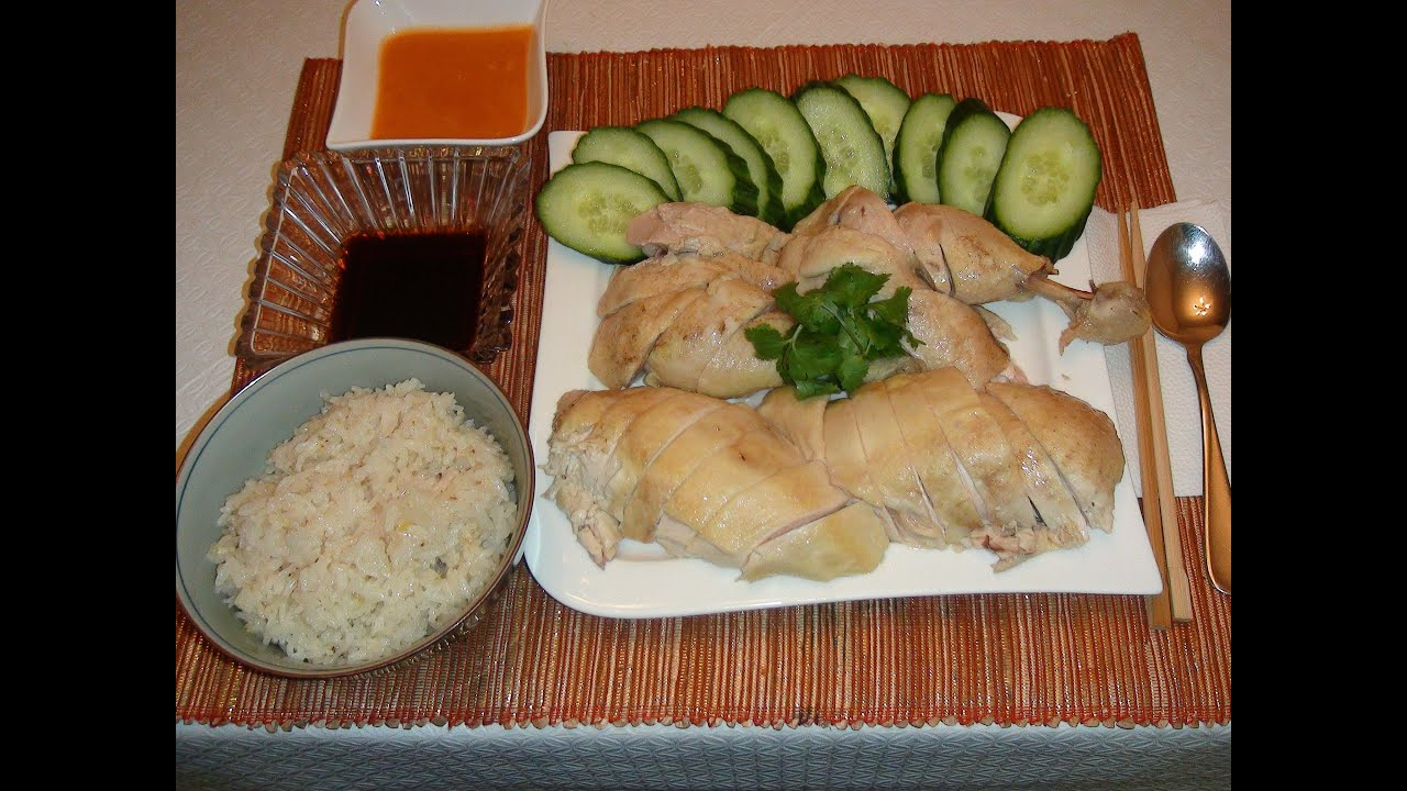 Pinoy Recipe  Hainanese Chicken Rice Quick And Easy Recipe [singapore  Style]  Youtube