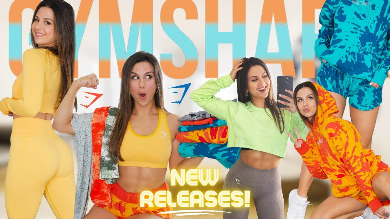 YOU READY?!   NEW release GYMSHARK haul, try on, & review! NEW Vital, Training, & MORE!