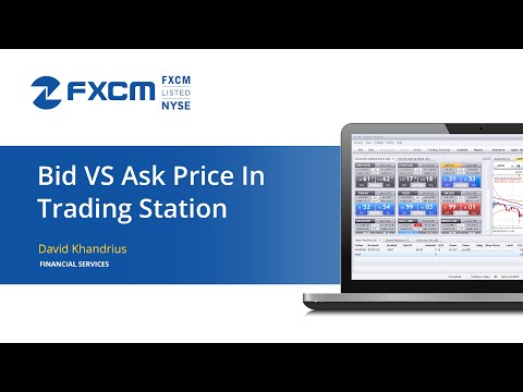 Bid price vs ask price forex