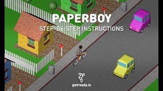 "Ready: Creating a game ""Paperboy"""