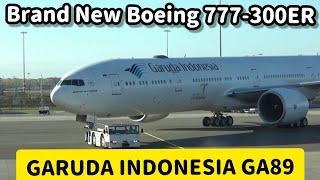 Flight Report : Garuda Indonesia Boeing 777-300ER PK-GIG GA89 Amsterdam to Jakarta