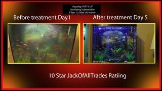 aquatop uvp 13 uv fish tank filter review fix any algea bloom problem 720phd