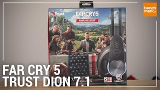 Słuchawki Trust GXT 383 Dion 7.1 + gra Far Cry 5 - unboxing