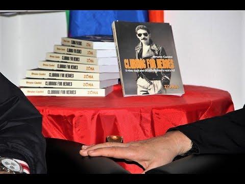 Bruno Casini e Ivan Cattaneo presentano  il  libro 'CLUBBING FOR HEROES .