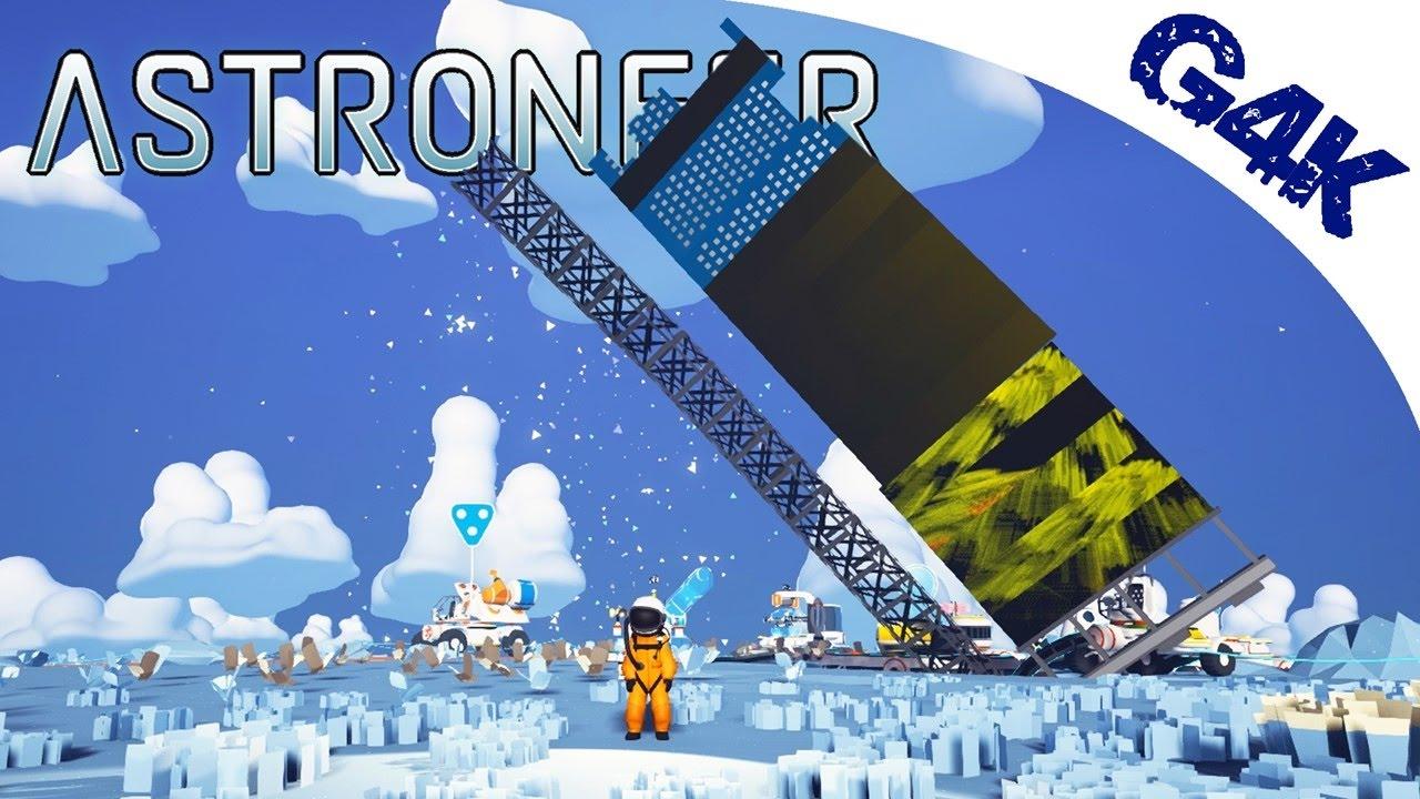 Giant Solar Panel Power Astroneer S01e06 Youtube