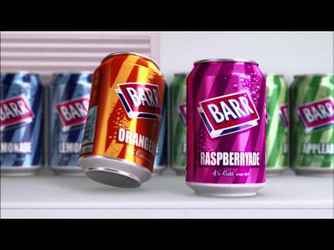 Barr Flavours - Barcode Advert - Fizzing With Flavour
