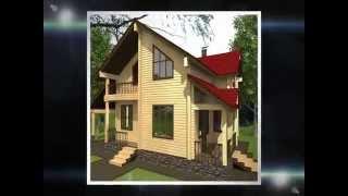 Проекты домов из клееного бруса. Загородный дом НОЯБРЬ-158. Деревянные дома Могута(, 2014-03-18T17:03:23.000Z)