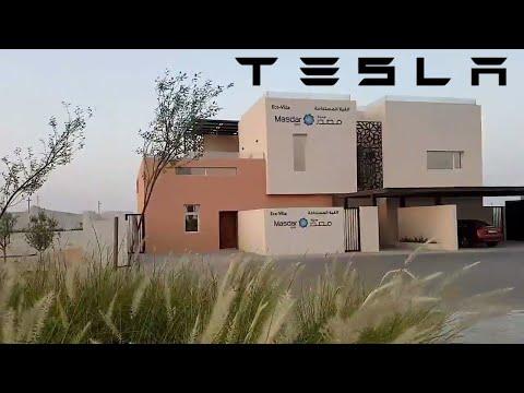 How Would Tesla House Look Like? || Futuristic Masdar Eco Villa in Abu Dhabi
