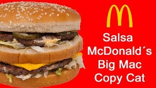 Salsa McDonald´s Big Mac Facil para Carnes y Pescados Copycat
