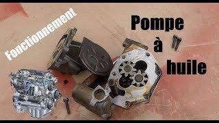 Pompe à huile moteur, Comment ça marche ?! 🤔