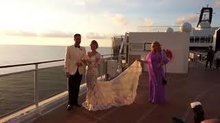 Свадьба на круизном лайнере MSC Meraviglia