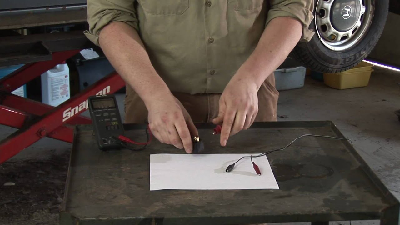 Auto Repair : How to Check a Fuel Pump Relay - YouTube